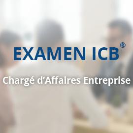 Examen ICB® – Chargé d'Affaires Entreprise