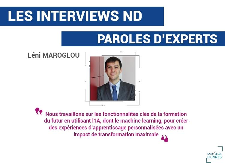 , Interview de Léni Maroglou – Directeur formation digitale chez Nouvelles Donnes