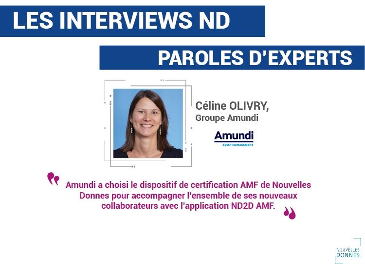 Amundi choisit Nouvelles Donnes pour la certification AMF de ses collaborateurs