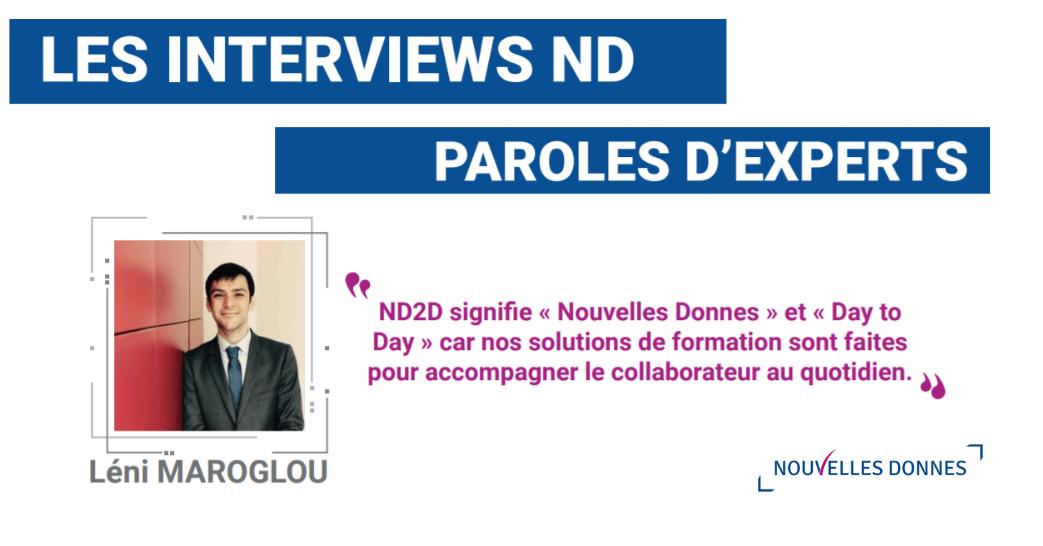 Interview de Léni Maroglou – Directeur formation digitale chez Nouvelles Donnes