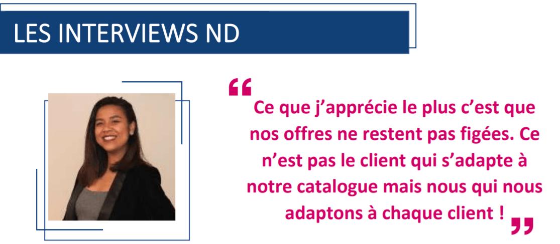Interview de Nafissa Tovoarimino – Chef de projets formation digitale chez Nouvelles Donnes