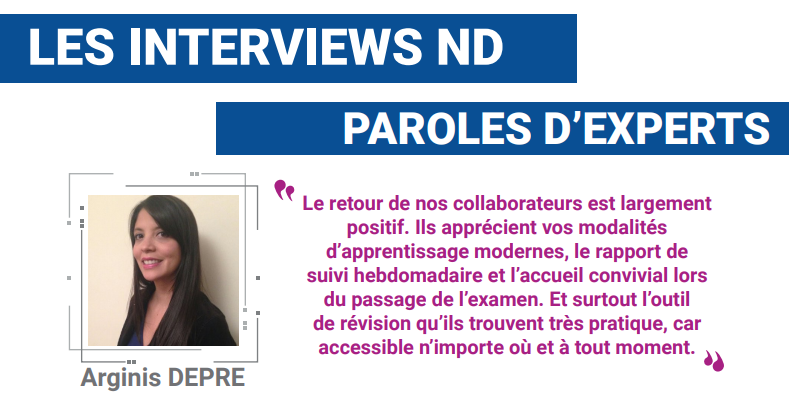 Interview Arginis Depre – Responsable de formation chez BforBank