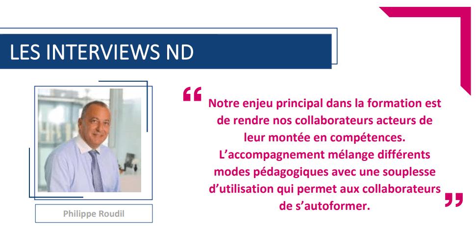 Interview Philippe Roudil – Directeur formation de la Banque Populaire Rives de Paris