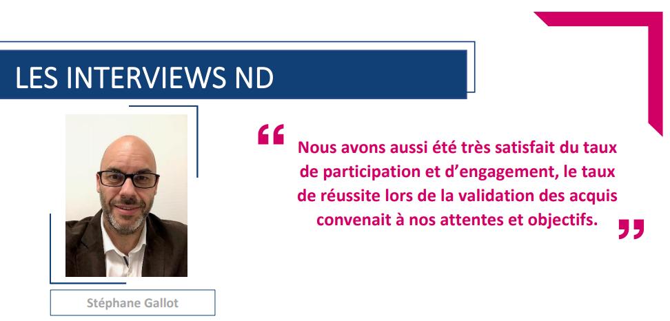 Interview Stéphane Gallot – Responsable formation chez Crédit Agricole Franche-Comté
