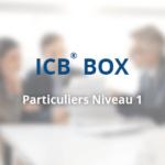 ICB® BOX – Conseiller des Particuliers Niveau 1