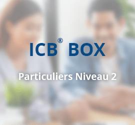 ICB® BOX – Conseiller des Particuliers Niveau 2