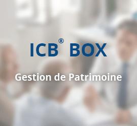 ICB® BOX – Conseiller en Gestion de Patrimoine